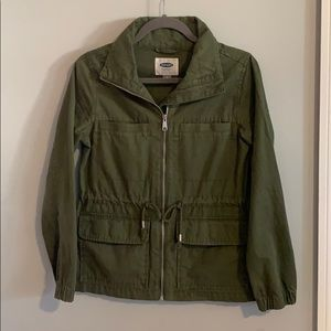 Military Jacket, Army Green